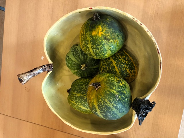 201. Keramieken fruitschaal Ø 45cm