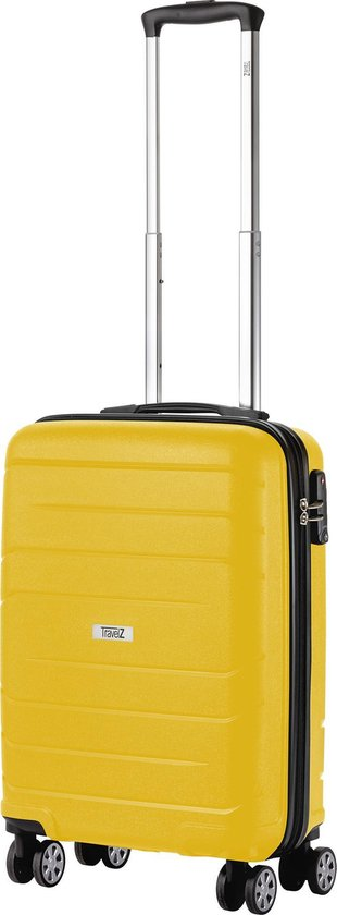181. Koffer, geel  34 x 55 cm