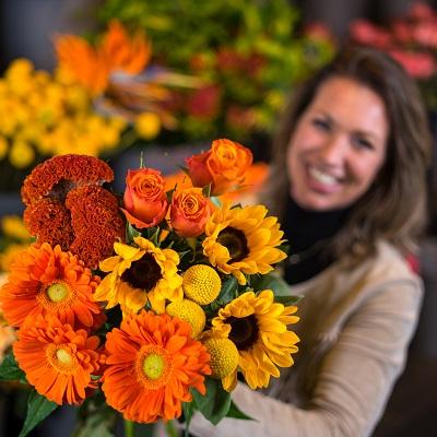 Cadeaubon bloemen t.w.v. 25 euro